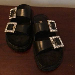 Michael Kors Collection jewel slides